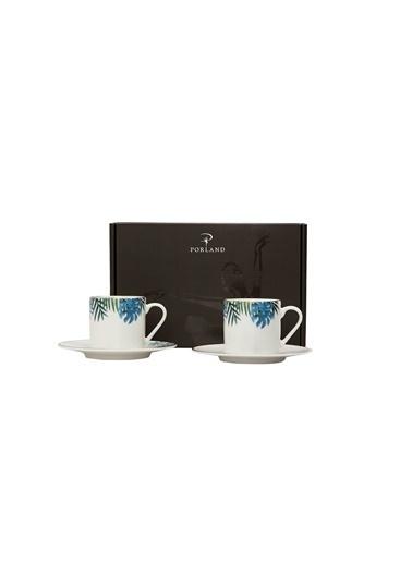 Porland Exotic Kahve Takımı 4 Parça Renkli